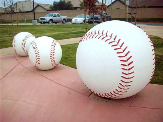 Baseball Bollards - Fig Garden Sports Complex - Fresno, CA