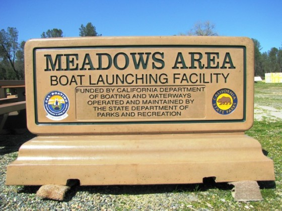 Monument Sign with Logos - Meadows Area