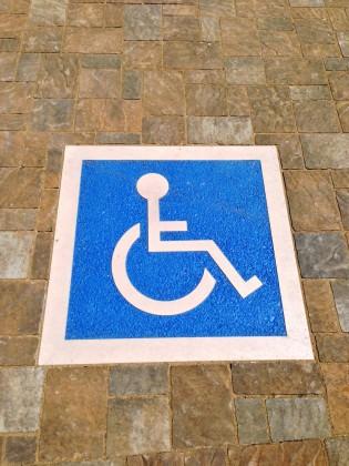 Custom Precast Handicap Paver - Sunnyvale, CA