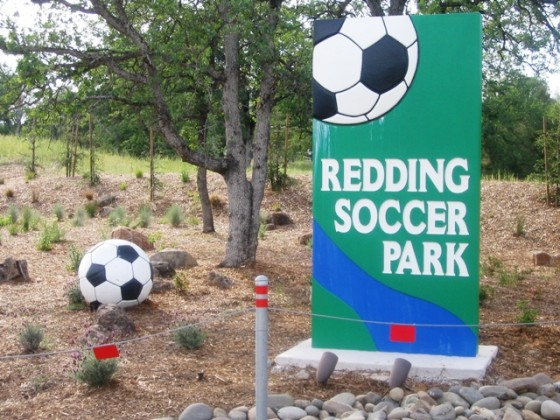 Custom Monument Sign – Redding Soccer Park - Redding, CA