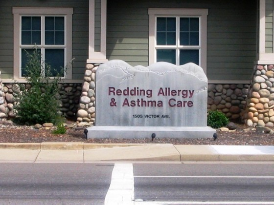 Monument Sign - Redding Allergy & Asthma Care - Redding, CA