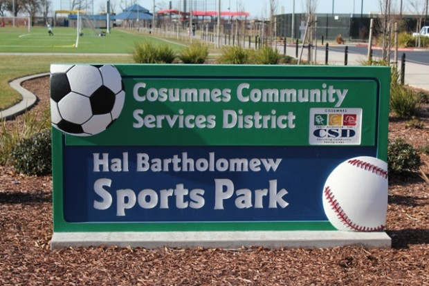 Custom Monument Sign - Bartholomew Sports Park - Elk Grove, CA