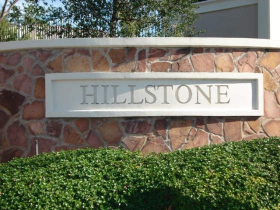 Custom Monument Sign - Hillstone - San Jose, CA