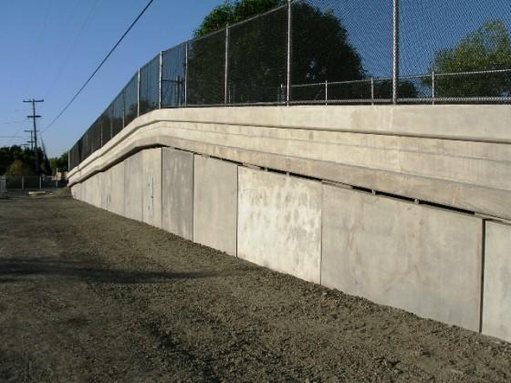 Precast Curtain Walls - Santa Clara, CA