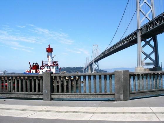 Precast Guardrails - Embarcadero Street - San Francisco, CA - Universal Precast Concrete, Inc.