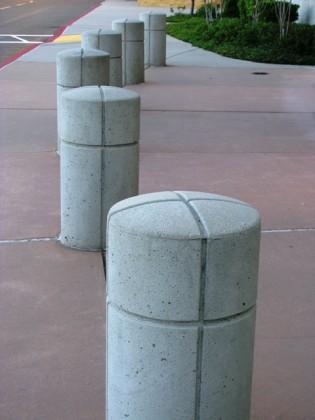 Precast Custom Round Bollards