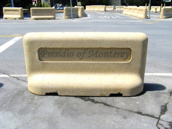 Custom Traffic Barriers - Presidio of Monterey