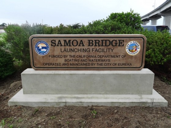 DBW108 - Samoa Bridge Monument Sign - Eureka, CA