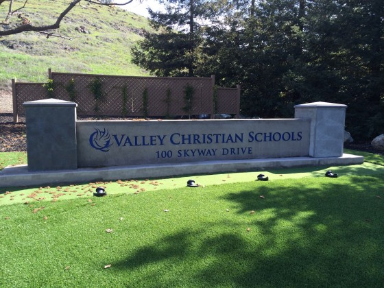 Valley Christian School Monument Sign - San Jose, CA