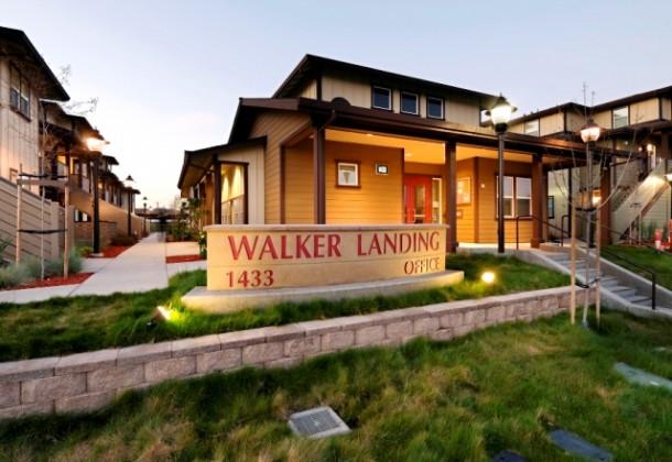 Monument Sign - Eden Housing Walker Landing - Hayward, C